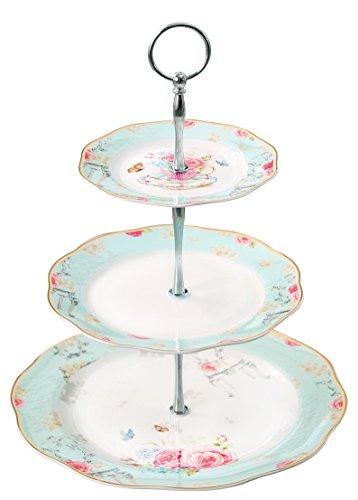 Jusalpha Ceramic Cupcake Serving platter