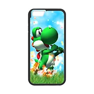 iphone6 4.7 inch case , Super Smash Bros Yoshi Cell phone case Black for iphone6 4.7 inch - LLKK0739996