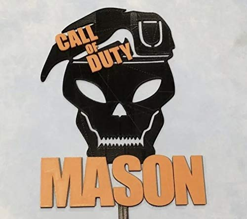 Call of Duty Black Ops Personalized Cake Topper (Call Of Duty Black Ops Birthday Party Supplies)