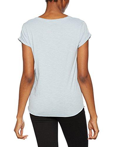 Leon & Harper, Camiseta para Mujer Azul (Bleuet)