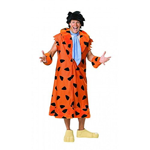 Fred And Wilma Flintstone Costumes (Fred Flintstone Adult Costume - Standard)