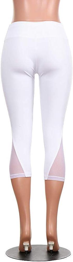 FRAUIT Pantalones Mujeres presagio Leggings Fitness Deportes Gimnasio Correr Slim Tight Yoga Pantalones Deportivos Color s/ólido Pantalones Casuales de Las Mujeres Pantalones oto/ño Invierno