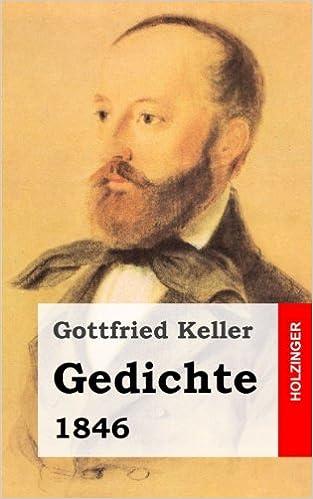Gedichte 1846 German Edition Gottfried Keller