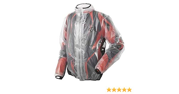 Fox Racing 2019 Youth MX Fluid Jacket (MEDIUM) (CLEAR)