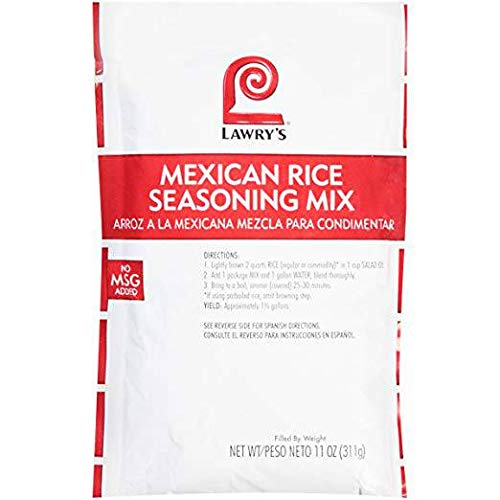 Lawrys Mexican Rice Seasoning Mix - 11 oz. package, 6 per case