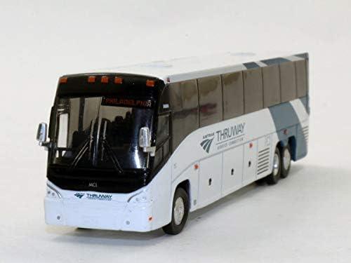 Amazon com: Iconic Replicas Amtrak MCI J4500 Diecast Bus 1:87 Scale