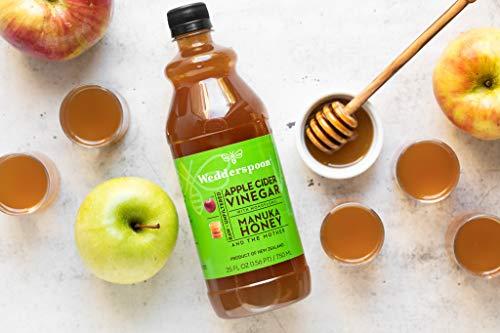 Wedderspoon Apple Cider Vinegar With Monofloral Manuka Honey & The Mother, 25 fl oz 5
