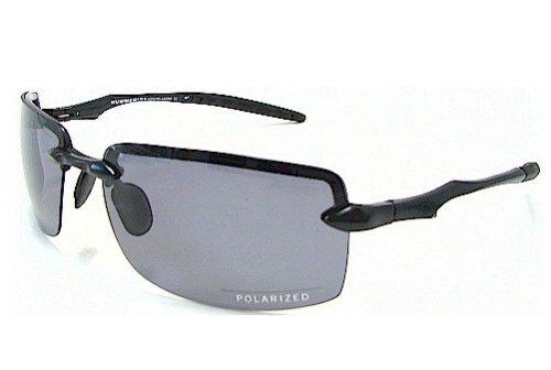 e8bdd344b6f79 Hummer H379 H-379 Black Frame Polarized Sunglasses  Amazon.co.uk  Clothing