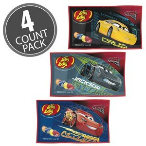 Disney & Pixar Cars Cars 3 Jelly Belly 1oz Bags