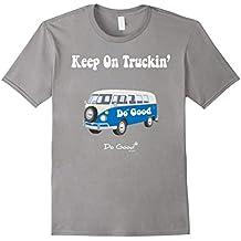 Keep On Truckin' V Dub Bus T-Shirt