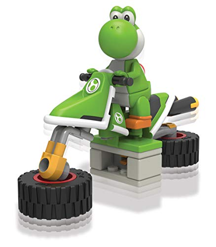K'NEX Nintendo Mario Kart Yoshi Bike Building Set]()