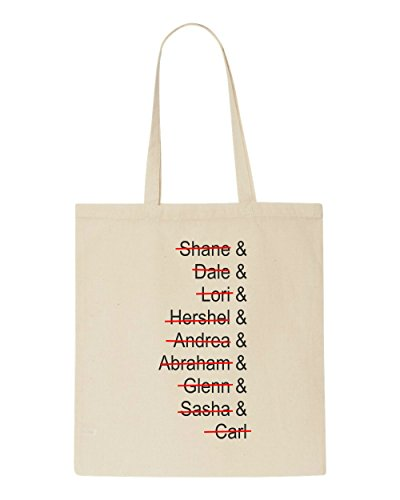 Zombie Bag Tote List Beige Character Past Lost Out Dead Names Quote Of Crossed Shopper 8C8qvwPf
