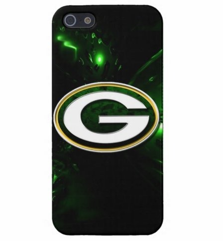 iPhone 5/5s carring case NFL Green Bay Packers team logo Black