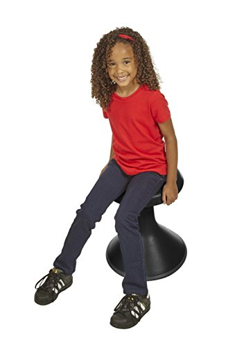 Classroom Select NeoRok Motion Stool, Active Wobble Seating, 15-1/2 inch Seat Height, Ebony by Classroom Select (Image #2)