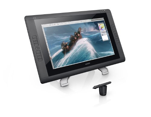 Wacom Cintiq 22HD 21-Inch Pen Display Tablet, Black (DTK2200) by Wacom