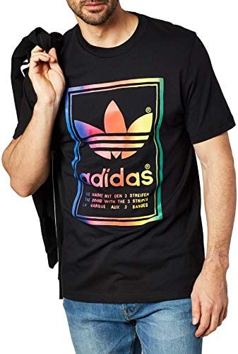 El extraño extremidades Pericia  Camiseta Adidas Originals Vintage Preta/Multicolor - GG - Preto |  Amazon.com.br