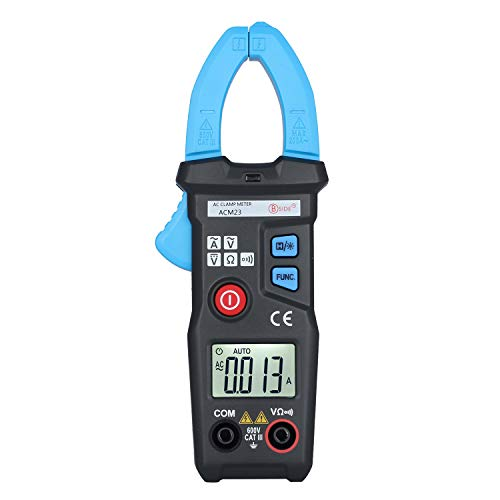 AimoTek ACM23 Digital AC Clamp Meter 6000 Counts AC 200A 600V Tester with Backlight