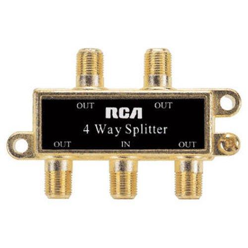 RCA 4 Way Signal Splitter VH49