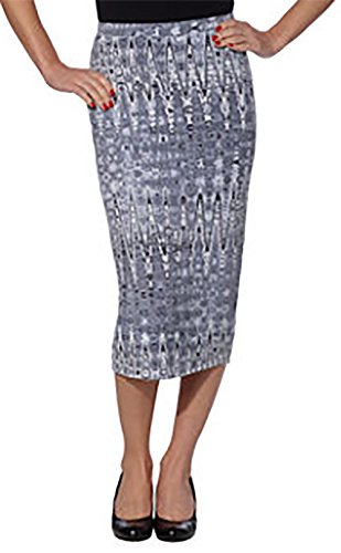 Matty M Ladies' Midi Skirt Pull-on Style, Fully Lined, Knee Length, XS