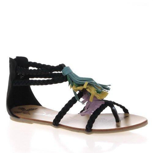 Ital-Design - Sandalias de vestir para mujer negro - negro