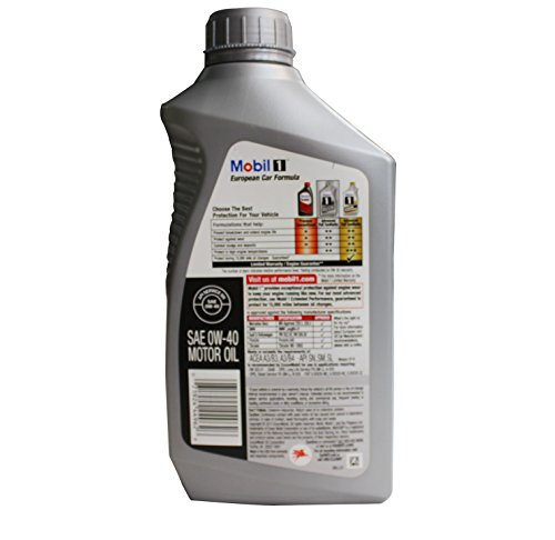 Mobil 1 98kg00 0w 40 synthetic motor oil 1 quart for Mobil 1 annual protection motor oil barcode