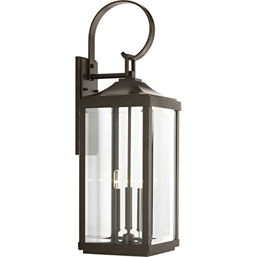 Progress Lighting P560023-020 Gibbes Street Three-Light Large Wall Lantern (9.5