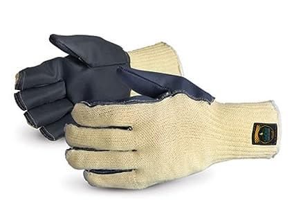Superior sksctb acción silachlor de Kevlar guantes de trabajo (palmas, con temperbloc, pequeño