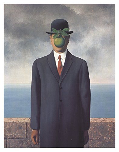 Rare Posters Prints, Rene Magritte - Son of Man, Small