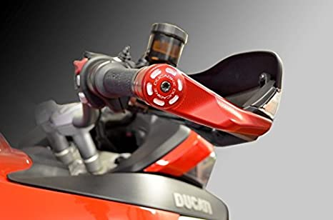 Multistrada 1260 S 2018 FXCNC Racing Motorcycle Aluminum Hand Guard Brush Bar Handguards Inner Bar Protectors Hand Protection Block for Ducati 950 MULTISTRADA MTS950