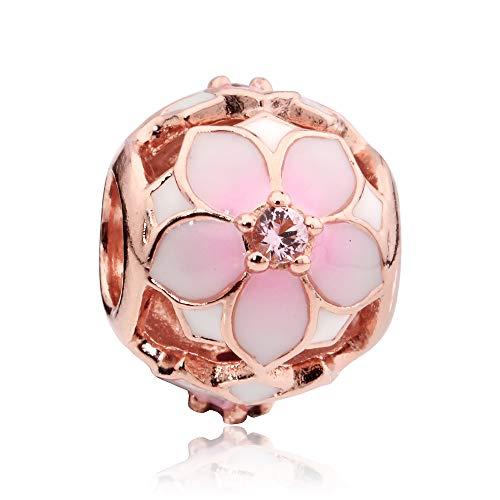 Pandora Rose Magnolia Bloom...