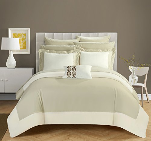 chic-home-design-llc-peninsula-comforter-set-beige-queen-10-piece