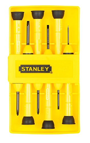 Stanley 66 052 6 Piece Precision Screwdriver