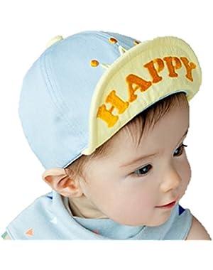 Baby Boys' Hat Spring Summer With Brim Sunshade Reduced UV Sunburn
