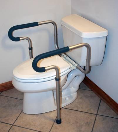 Toilet Safety Frame Sunmark, Aluminum, 2 Per Case