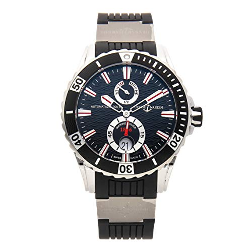 Ulysse Nardin Marine Mechanical (Automatic) Black Dial Mens Watch 263-10/92 (Certified - Ulysse Nardin 92 Watches