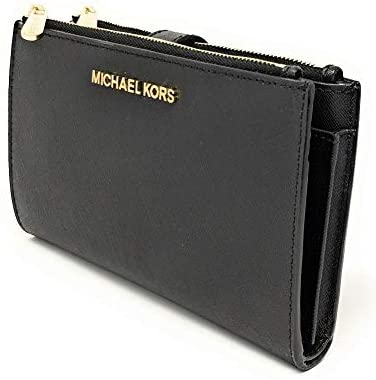 Michael Kors Women's Jet Set Travel Double Zip Wristlet 1