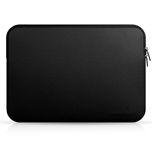Designer Sleeves 14' Pc - shiYsRL 11-15.6 inch Zipper Laptop Bag ,Wear-Resistant Protective Sleeve Casefor MacBook Air Pro Retina Notebook Black 14''