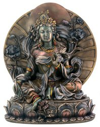 - Green Tara - Collectible Buddhism Statue Figurine Buddha Sculpture