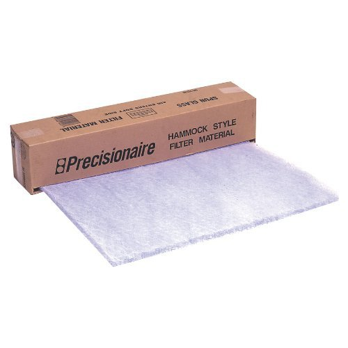 """Flanders PrecisionAire HR242402 24"""" by 240"""" by 2"""" Hammock Roll Air Filter (1 Pack)"""