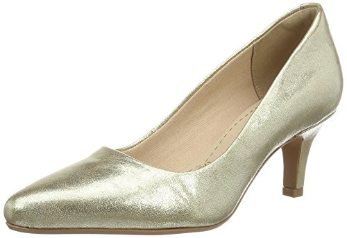 Isidora Gold Faye Shoes Clarks Champagne Aq167wp