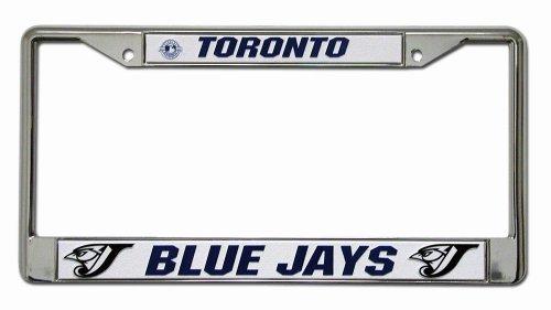 MLB Toronto Blue Jays Chrome License Plate Frame
