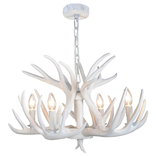 Moose antler chandeliers for sale yhf resin antler chandeliers resin antler chandeliers 4 light 244 diameter 4 feet matching chain aloadofball Gallery