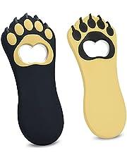 Cottonix Flasköppnare, bärbar katttass eller björntass flasköppnare magnetisk, öl flasköppnare för barer, fester, hem roliga gåvor