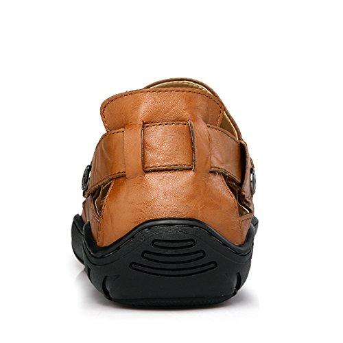 Braun Braun Größe XCR7301 39 EU Sandalen Miyoopark UK Herren gBqSq
