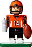 NFL GEN3 Cincinnati Bengals Andy Dalton Limited Edition Minifigures, Black, Small