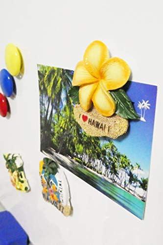 [スポンサー プロダクト](アンドラキ) AndLaki ハワイ お土産 マグネット 冷蔵庫 ハワイアン 雑貨 厳選3個セット