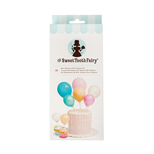 American Crafts Sweet Tooth Fairy Accessories Mini Balloon Cake Topper Kit Color]()