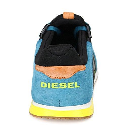 Diesel - Zapatillas de Piel Lisa para hombre multicolor multicolor turquesa