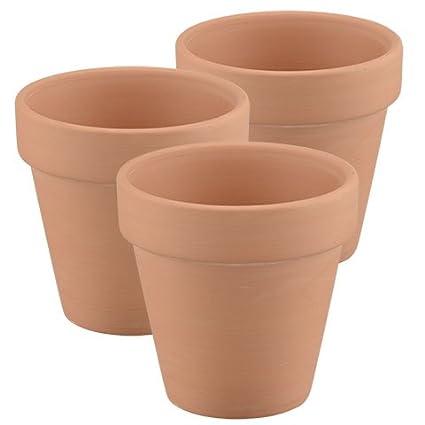 225 & Amazon.com: Terra Cotta Pots 3 Inch - 3 Pack Mini Clay ...