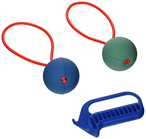 Pro Ball Go-Frrr Slingshot-Action Dog Fetch Toy, Double Play Kit, Large - Go Frrr Dog Balls